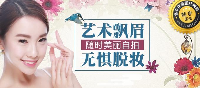 北京进口专业染料艺术飘眉
